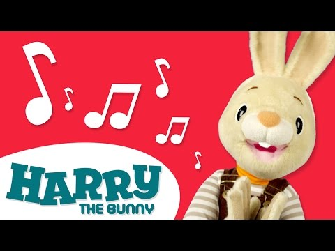 Musical Instruments Collection With Harry The Bunny | Guitar, Drum and More!