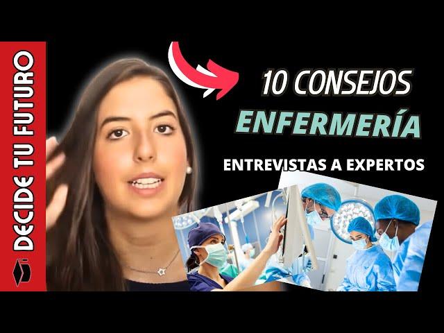 10 CONSEJOS PARA ESTUDIAR ENFERMERÍA...