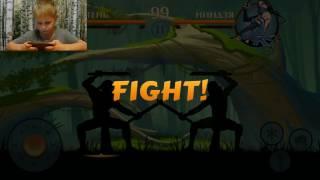 Прикольные игры на андроид. Файтинг Shadow Fight.   Игры для мальчиков