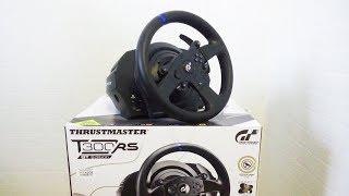 THRUSTMASTER T300RS GT Edition - Распаковка игрового руля!