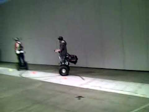 Electric motor show, Helsinki  Segway-ajelua