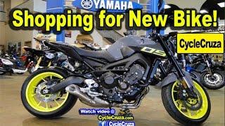 Shopping For New Motorcycle at Dealership   MotoVlog