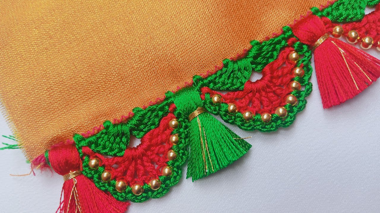 new saree kuchu / #bridalSareekuchu // saree kuchu