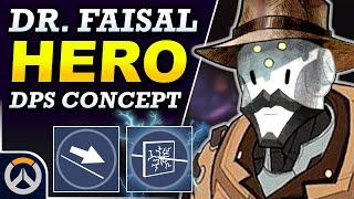 Overwatch - HAMID New Hero Concept   DPS Hero Abilities & Full Kit