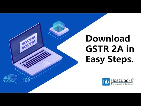 Download Complete Guide To Process View Gstr 2a Via Gen Gst Software