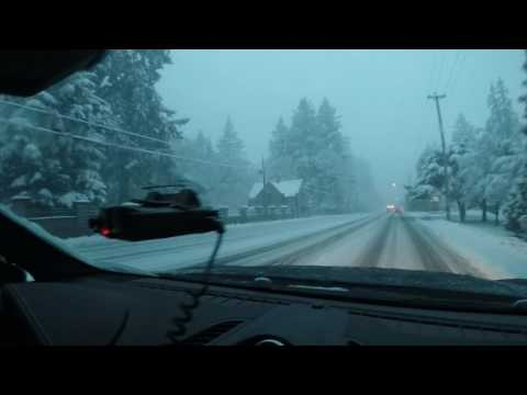 2017 Snow Storm in Victoria BC!!
