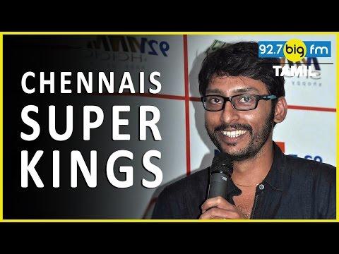 CHENNAI SUPER KINGS Team - Rj Balaji Take...