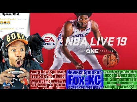 NBA LIVE 19 FIRST GAMEPLAY