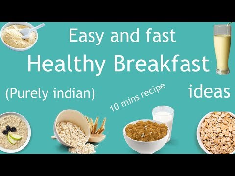 Easy And Fast Healthy Breakfast Ideas Indian Recipe Hindi Cook