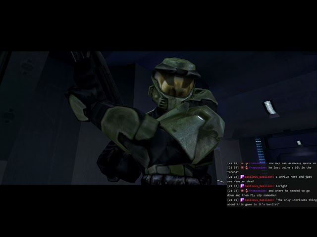 More Halo with Hamster