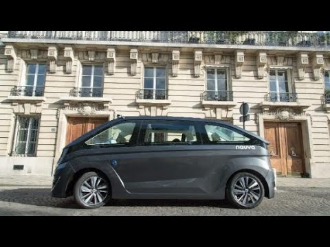 NAVYA unveils driverless taxis