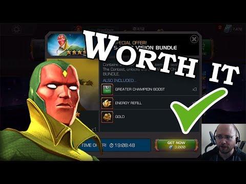 5-Star OG Vision For 3k Units | Marvel Contest Of Champions