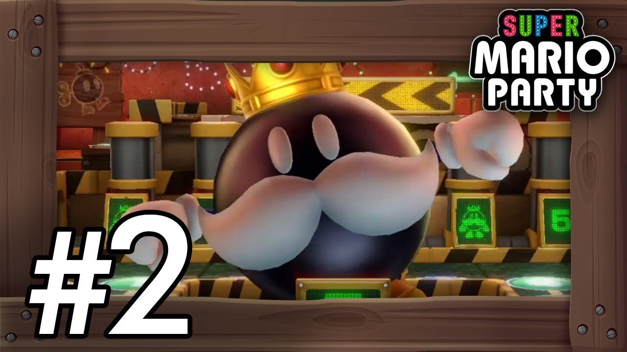 Super Mario Party: Walkthrough Part 2 - King Bob-omb's ...