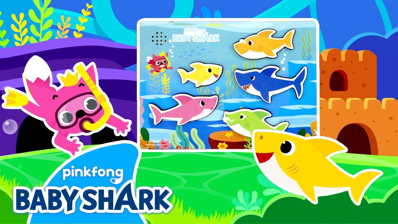 Hide-and-Seek with the Shark Family | Christmas Crafts | Holiday Special | Baby Shark Official