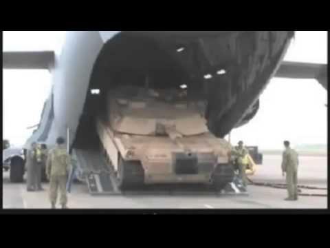 Сверхтяжелые самолеты НАТО в Ульяновске