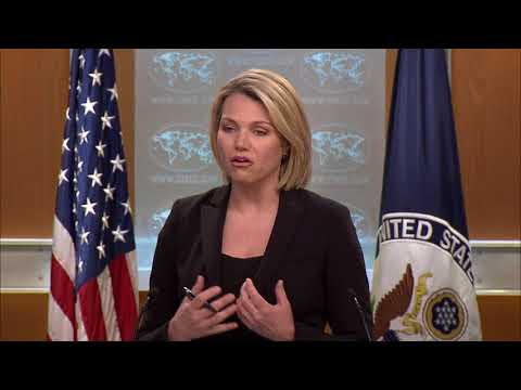 Department of Press Briefing - June 5, 2018