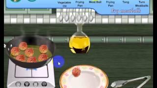 Sara Cooking Games Swedish Meat Balls Online Game