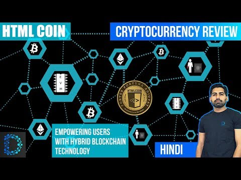 Cryptocurrency Review- HTML Coin (HTML) - Proof Of Mass Adoption - Price Prediction - [Hindi/Urdu]