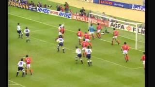 Des Walker - FA Cup Final - Wembley - THFC 2-1 NFFC - 94th Minute Own Goal.