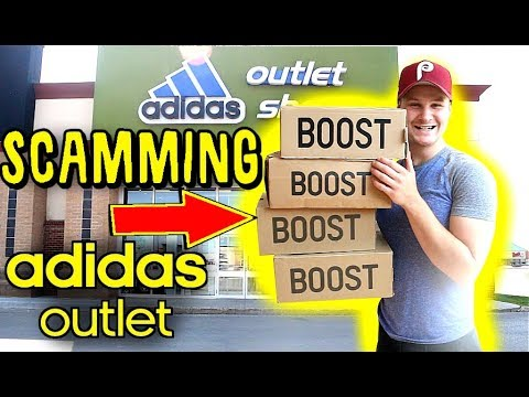 RETURNING FAKE SNEAKERS TO  ADIDAS OUTLET STORE!!! I GOT SO MUCH MONEY!
