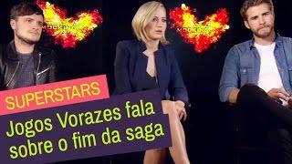 Superstars: Elenco de Jogos Vorazes fala sobre o fim da saga