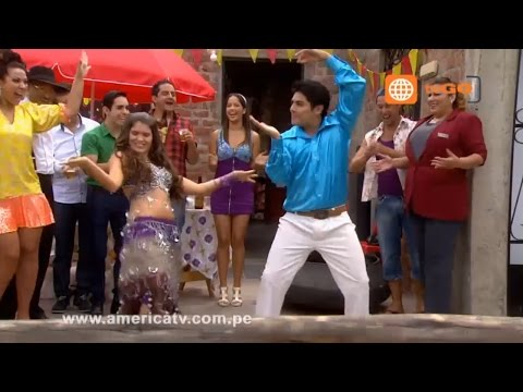 Al Fondo hay Sitio: Joel y Fernanda bailaron en la parrillada de Manolo - 18/03/2014