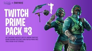NEW FREE SKINS in Fortnite! (Twitch Prime Pack #3)