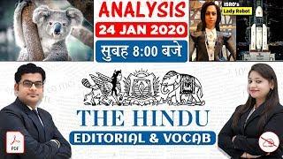 The Hindu Editorial Analysis   By Ankit Mahendras & Yashi Mahendras   24 JAN 2020   8:00 AM