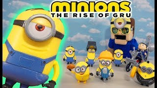 Minions 2 - Rise of Gru Toys 2020 Action Figures!