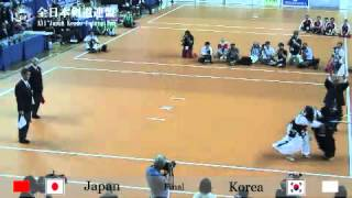 15WKC 女子団体決勝戦 日本-韓国