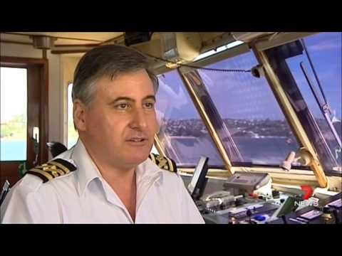 Seven News Sydney - Flashback: Sydney Hydrofoils (23/11/2013)