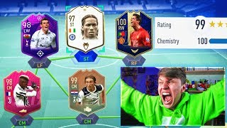 99 RATED!! RAREST FUT DRAFT CHALLENGE EVER vs SV2!! (FIFA 19)
