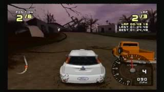Ford Racing 2 PS2: Volcano