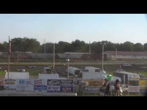 Hobby Stock Heat 1 @ Buena Vista Raceway 08/17/16
