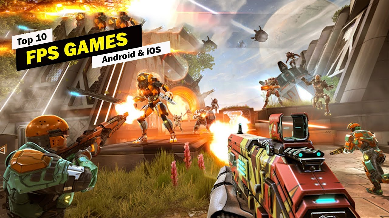 Best Fps Games 2020.Top 10 Best Fps Games For Android Ios 2019 2020