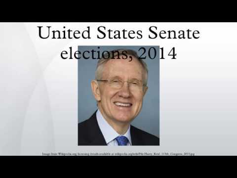 United States Senate elections, 2014