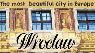 The MOST BEAUTIFUL city in Europe: Wrocław, Poland