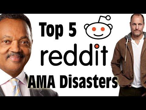 Top 5 Reddit AMA Disasters - GFM
