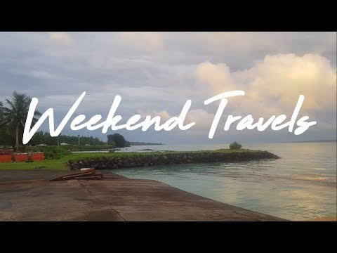 Samoa Travel Diary | Weekend Travels