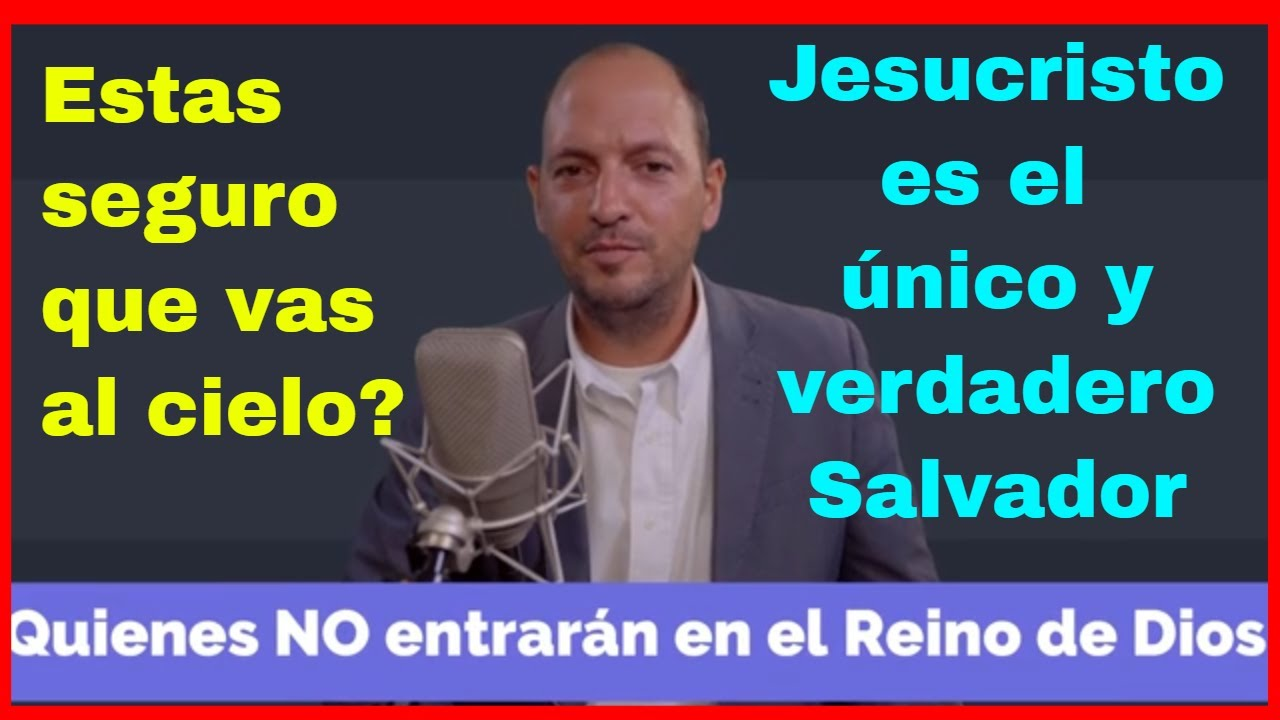 Quienes No Entrarán En El Reino De Dios Hay Vida Después De La Muerte 1 Juan 5 11 12 Youtube