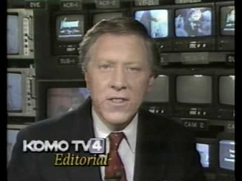KOMO 4 Seattle sign-off January 1989