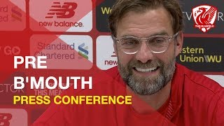 liverpool-vs-bournemouth-jurgen-klopp-press-conference