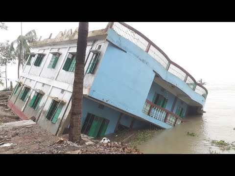 Shariatpur Padma River Erosion | Shariatpur District will be Destroy in River Erosion