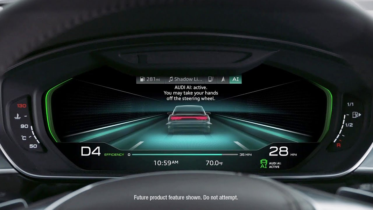 2018 audi virtual cockpit. brilliant audi 2018 audi a8  spiderman intended audi virtual cockpit