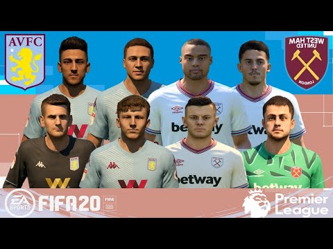 FIFA 20 | Premier League 19-20 Aston Villa vs West Ham | Gameplay PC
