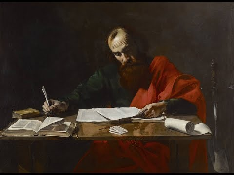 The authorship of Paul's letters - by Dr Stephen Spence.