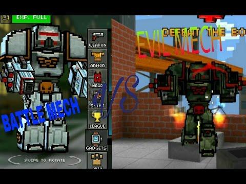 PIXEL GUN 3D - BATTLE MECH VS EVIL MECH