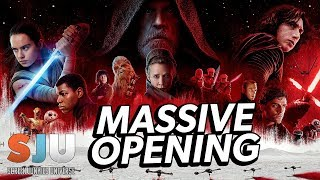 Star Wars: The Last Jedi Will Have a MASSIVE Opening Weekend - SJU