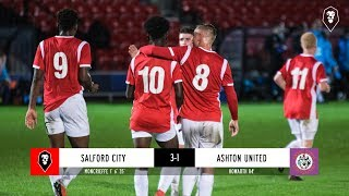 Salford City 3-1 Ashton United | Manchester Premier Cup - Round of 16