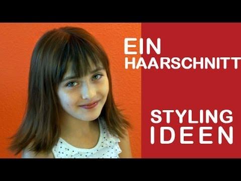 Neue Haarschnitt Für Mittellage Haare Anleitung Und Styling Youtube